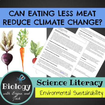 Science Literacy: Can Eating Less Meat Reduce Climate Change?