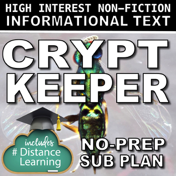 Science Literacy Crypt Keeper Wasp Sub Plan