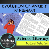 Science Literacy: Evolution of Anxiety in Humans
