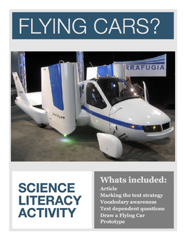 Physical Science Activity - Flying Cars