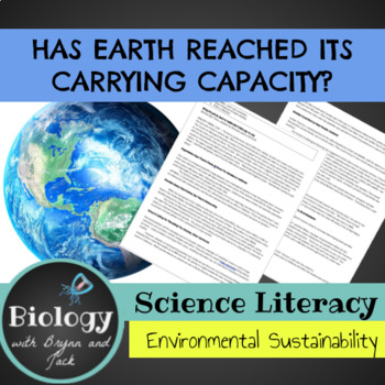 Science Literacy: Has Earth Reached its Carrying Capacity?
