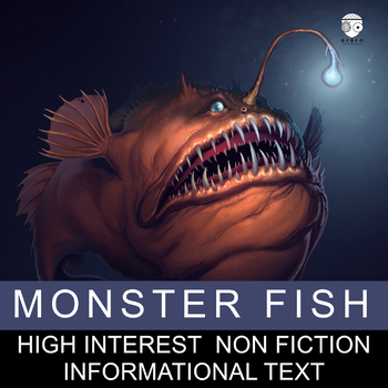 Science Literacy Monster Fish Science Sub Plan