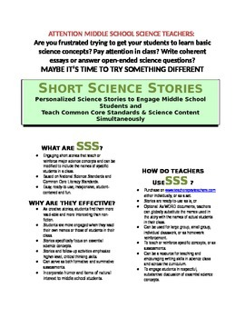 Science Literacy: SSS3 - Short Science Story  - Heredity,