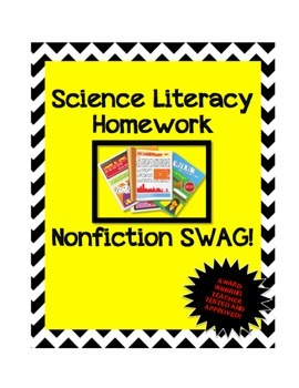 Science Literacy Homework Template : Nonfiction Article An