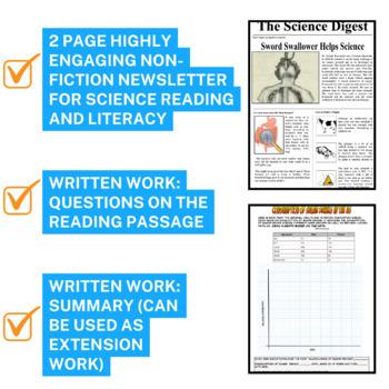 Secondary Science Sub Plans Bundle