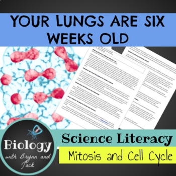 Science Literacy: Your Lungs are 6 weeks old