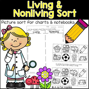 Science Living and Nonliving Sort