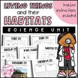 Science: Living things and their habitats