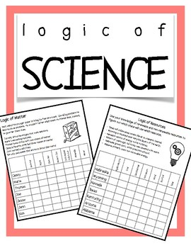 Science Logic Puzzles