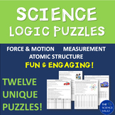 Science Logic Puzzle Bundle: Measurements, Motion, Force,