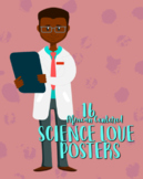 Science Love Posters, Set of 16