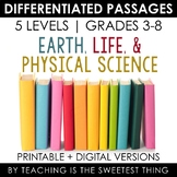 Science Differentiated Passages Bundle
