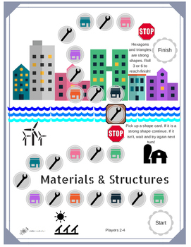 Science Materials and Structures Game
