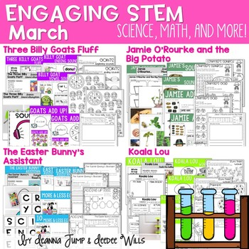 Science, Math, & More March Set 1