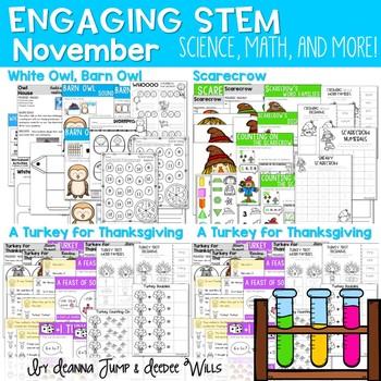Science, Math, & More November SET TWO