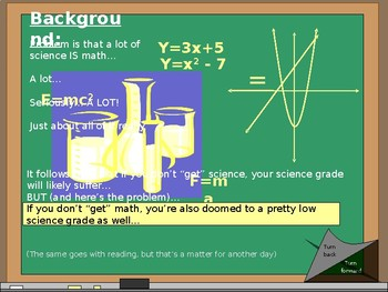 Science Math: Solving 3 Variable Problems