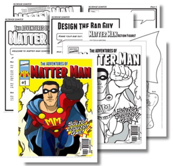 Science: Matter Man Comics