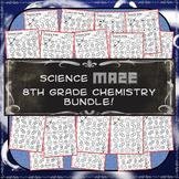 Science Maze 8th Grade Chemistry Bundle
