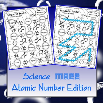 Science Maze Atomic Number
