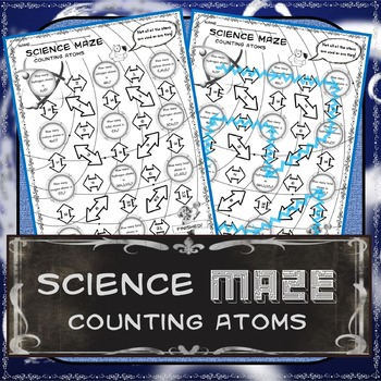 Science Maze Counting Atoms