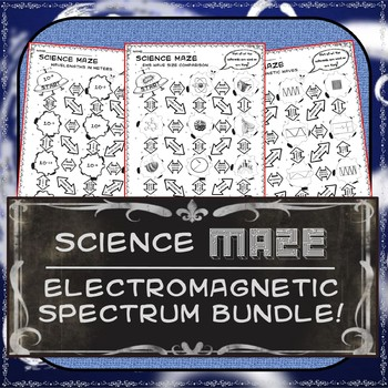 Science Maze - Electromagnetic Spectrum Wave Bundle