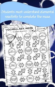 Science Maze Elemental Reactivity