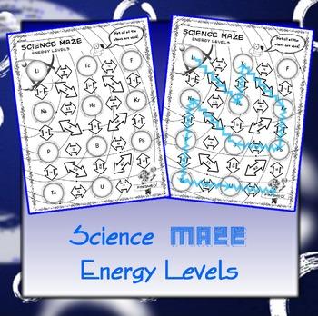 Science Maze Energy Levels