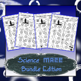 Science Maze Lab Safety and Lab Equipment 6th/7th/8th