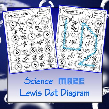 Science Maze Lewis Dot Diagram