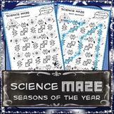 Science Maze - What Season is It? - 8th Grade Science