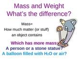 Science (Measurement): Mass, Weight, Volume (PowerPoint in