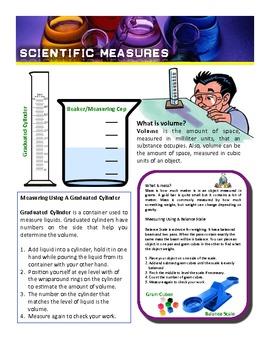 Science Measurement Poster