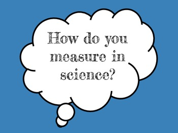Science Measurement Posters