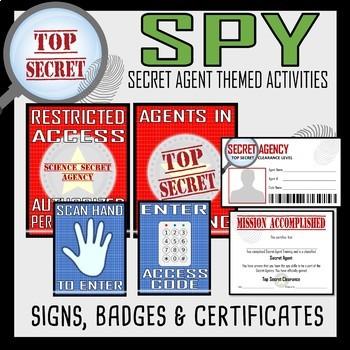 Science Measurement Rotation Lab- Secret Agent Activity