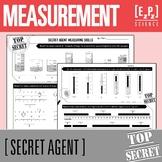 Science Measurement- Secret Agent Activity