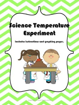 Science Measuring Temperature Air Water Soil Color and Bla