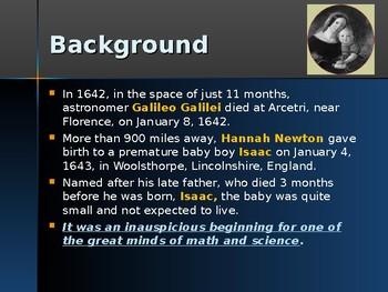 Science & Medicine - Key Figures - Isaac Newton