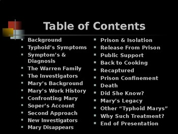 Science & Medicine – Key Figures – Typhoid Mary