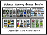 Science Memory Games Bundle