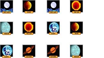 Science Memory: Solar System