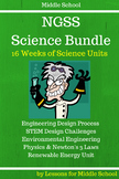 Science - Middle School Bundle of Science Units