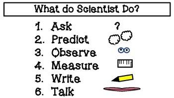Science Mini Anchor Charts