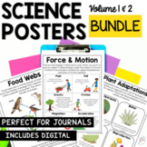 Science Poster and Anchor Chart Bundle