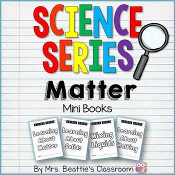 States of Matter: Science Mini Books