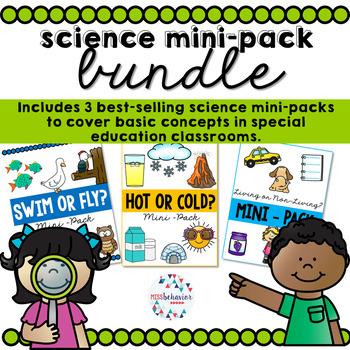 Science Bundle   Special Education Science