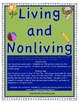 Science Mini Pack: Living and Non-living Things Worksheets