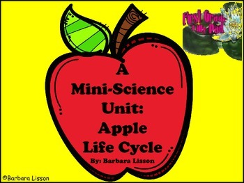 Science Mini-Unit: Apple Life Cycle