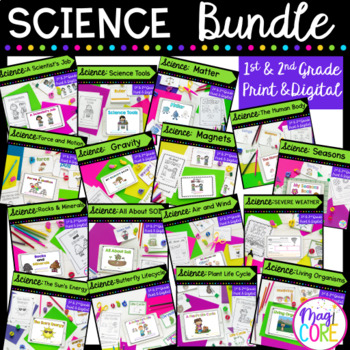 Science Mini Unit Bundle- 1st & 2nd Grade