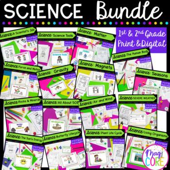 Science Mini Unit Bundle- 1st & 2nd Grade
