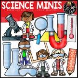 Science Minis Clip Art Set {Educlips Clipart}
